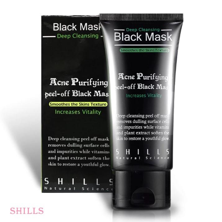 【黑頭掰掰】SHILLS 挽臉活性炭黑面膜