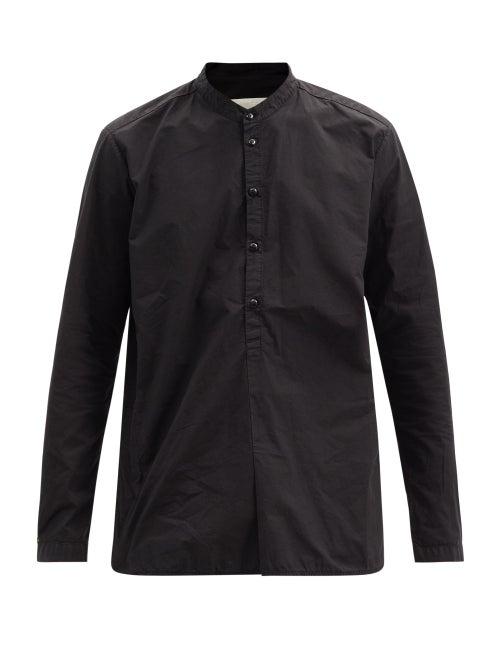 Toogood - The Botanist Cotton-poplin Shirt - Mens - Black