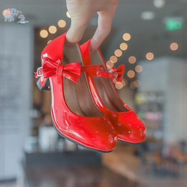 小孩高跟鞋女兒童細跟春款小童秋小朋友公主女孩穿的寶寶女童鞋子 幸福第一站
