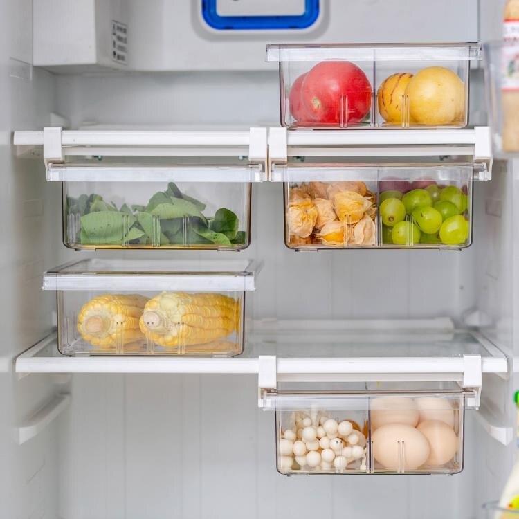 摩登主婦冰箱收納盒抽屜式冷凍保鮮盒懸掛式廚房整理盒分類雞蛋盒 芭蕾朵朵