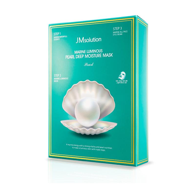 Jm solution 海洋珍珠深層保濕面膜三部曲 韓國  交換禮物  【SP嚴選家】