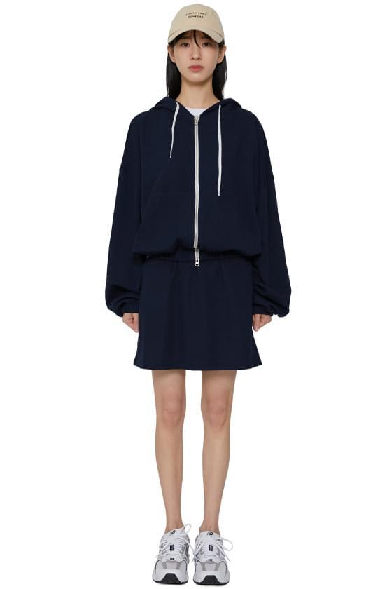 韓國空運 - Mei hooded zip-up sweatshirt set 夾克