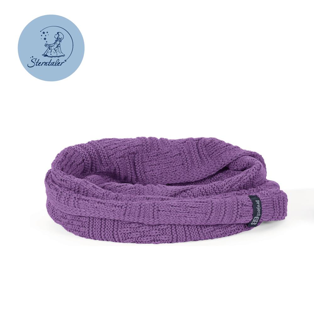 STERNTALER 素色保暖圍脖-葡萄紫