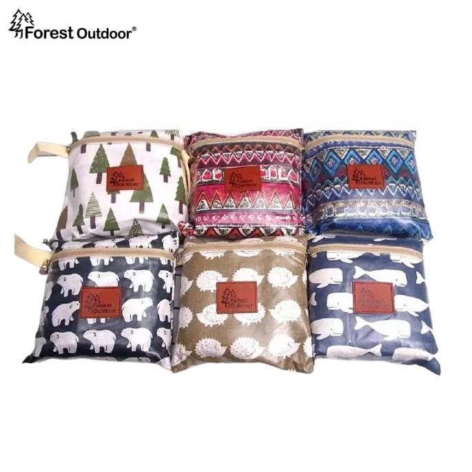 Forest Outdoor【加大防水桌巾】170*110cm 露營桌布 蛋捲桌 桌墊 野餐墊【愛上露營】