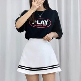 韓國空運 - Lettering Play Short Sleeve Tee 短袖上衣