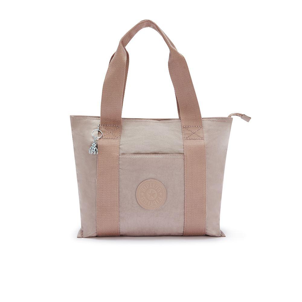 玫瑰拿鐵色手提包-ERA S