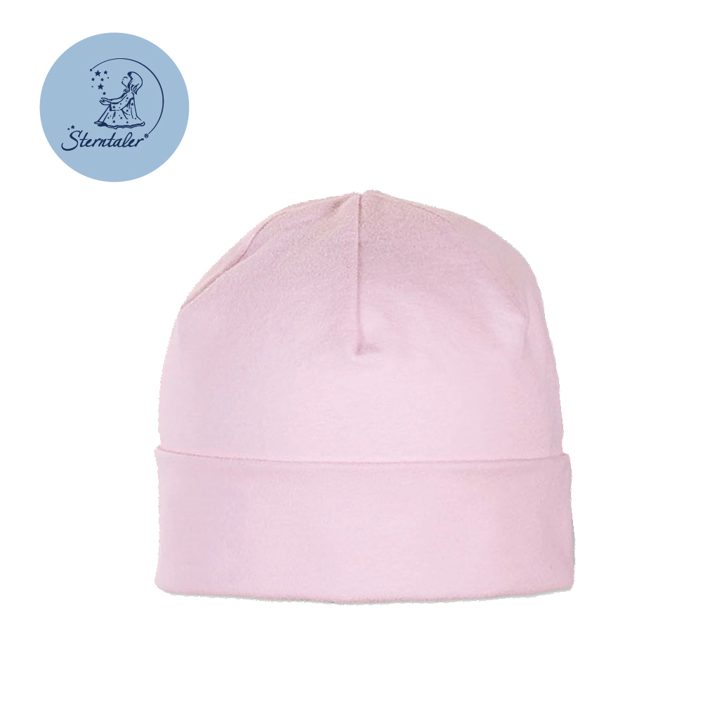 STERNTALER 嬰兒棉帽39cm-粉