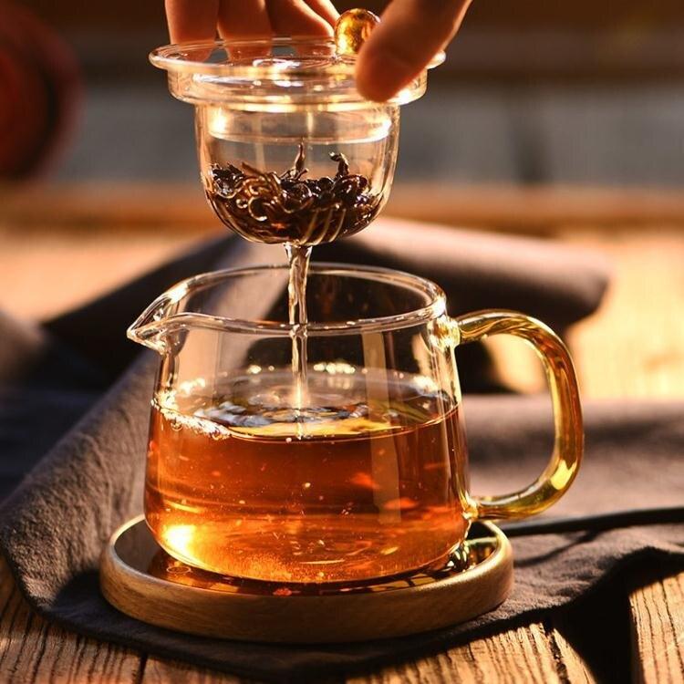 茶壺玻璃加厚耐熱耐高溫明火錘紋玻璃茶壺煮茶壺家【百淘百樂】