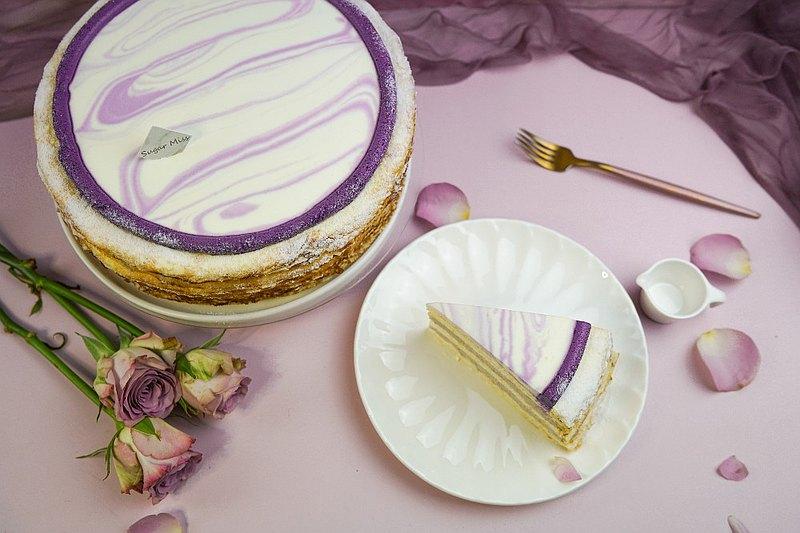 母親節限定 紫芋香提千層蛋糕9吋