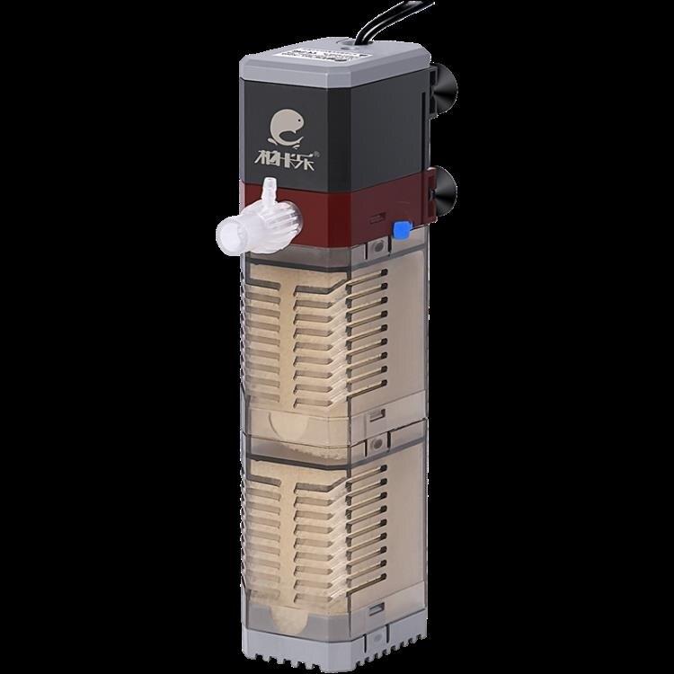 過濾器 小型氧氣泵靜音三合一循內置增制機龜缸凈【百淘百樂】