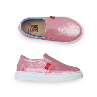 【台福製鞋】亮彩活力童鞋-寶石粉(T5079)