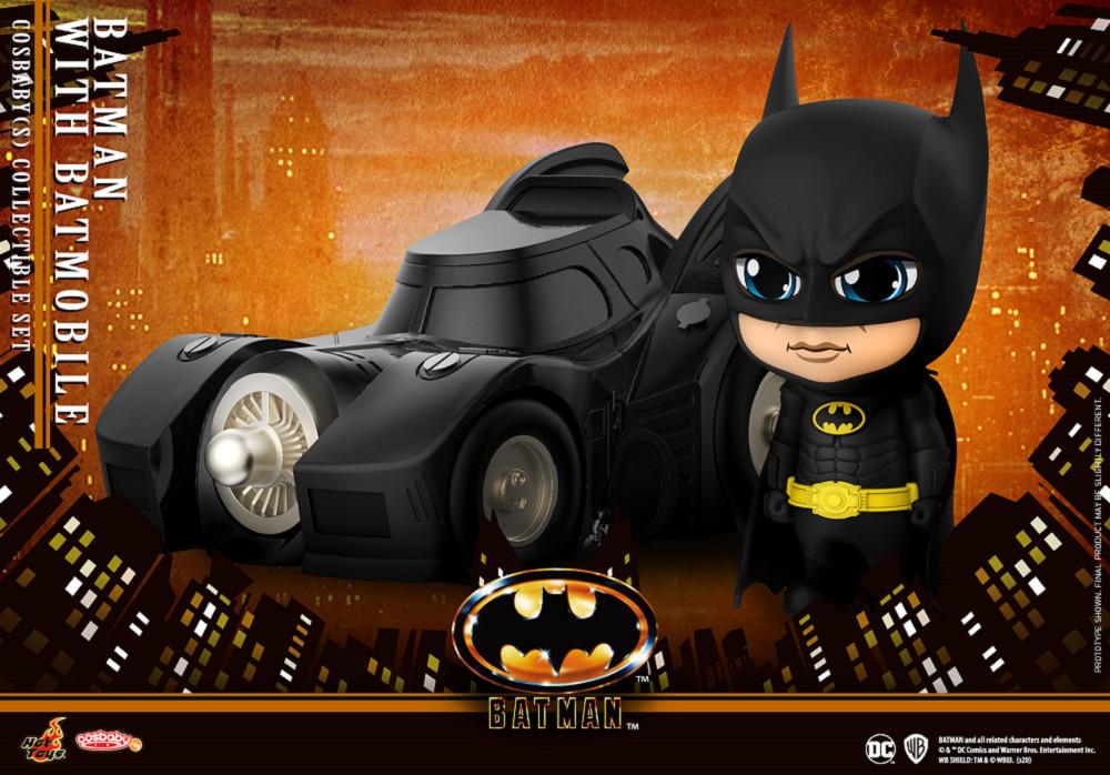 COSB710 蝙蝠俠(1989) 蝙蝠俠與蝙蝠車 套裝組