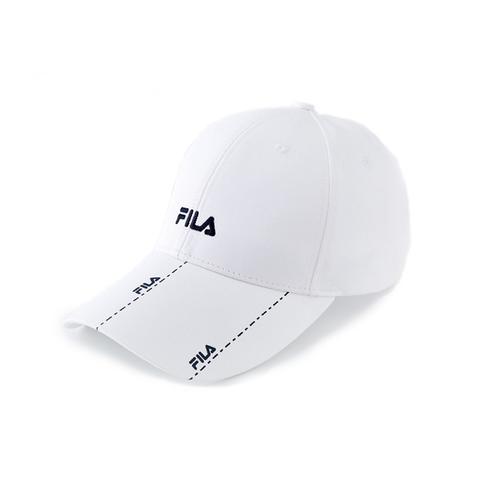FILA 時尚LOGO帽-白 HTV-1004-WT