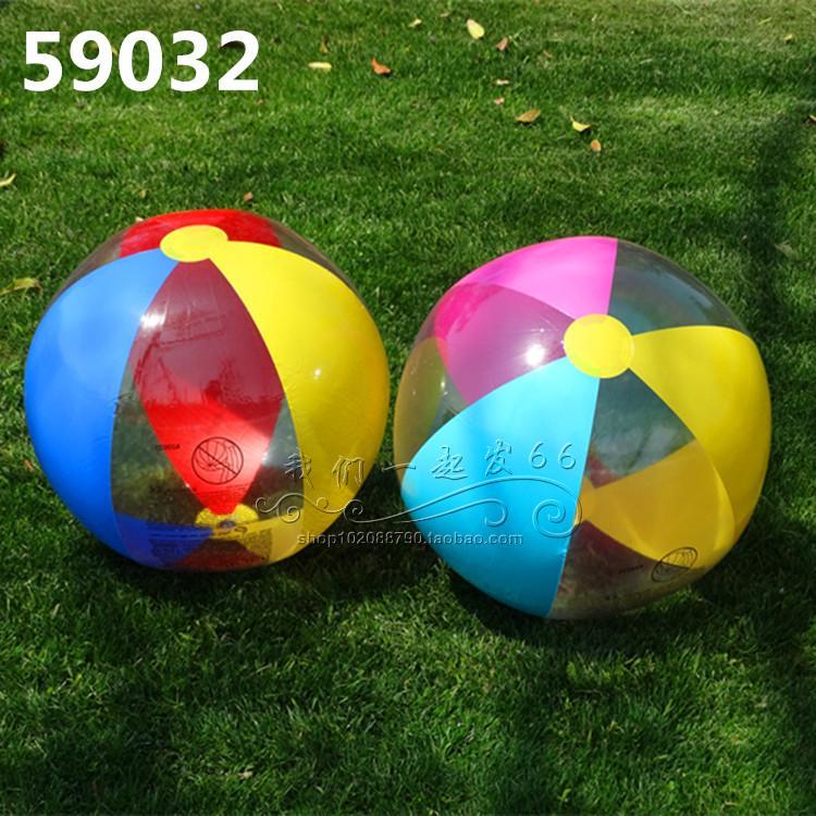 沙灘球 充氣球 沙灘球戲水球兒童泳池水球草坪玩具海灘球手球玩具球『cyd0012』