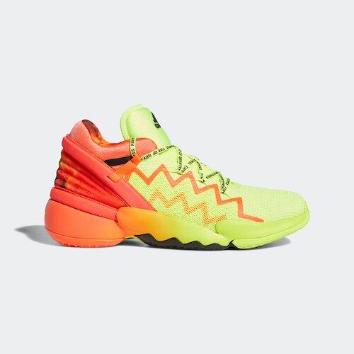 Adidas D.o.n. Issue 2 Gca [H67570] 男鞋 籃球鞋 運動 包覆 舒適 緩震 螢光黃 橘