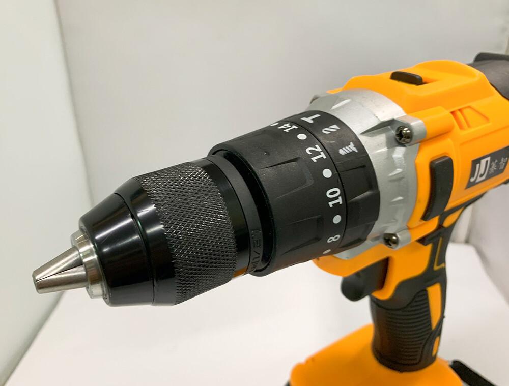 鋰電有刷衝擊鑽 jj(牧田款) 21v雙電 3.0ah 簡配 紙盒/13mm大功率手電鑽/鋰電衝擊鑽