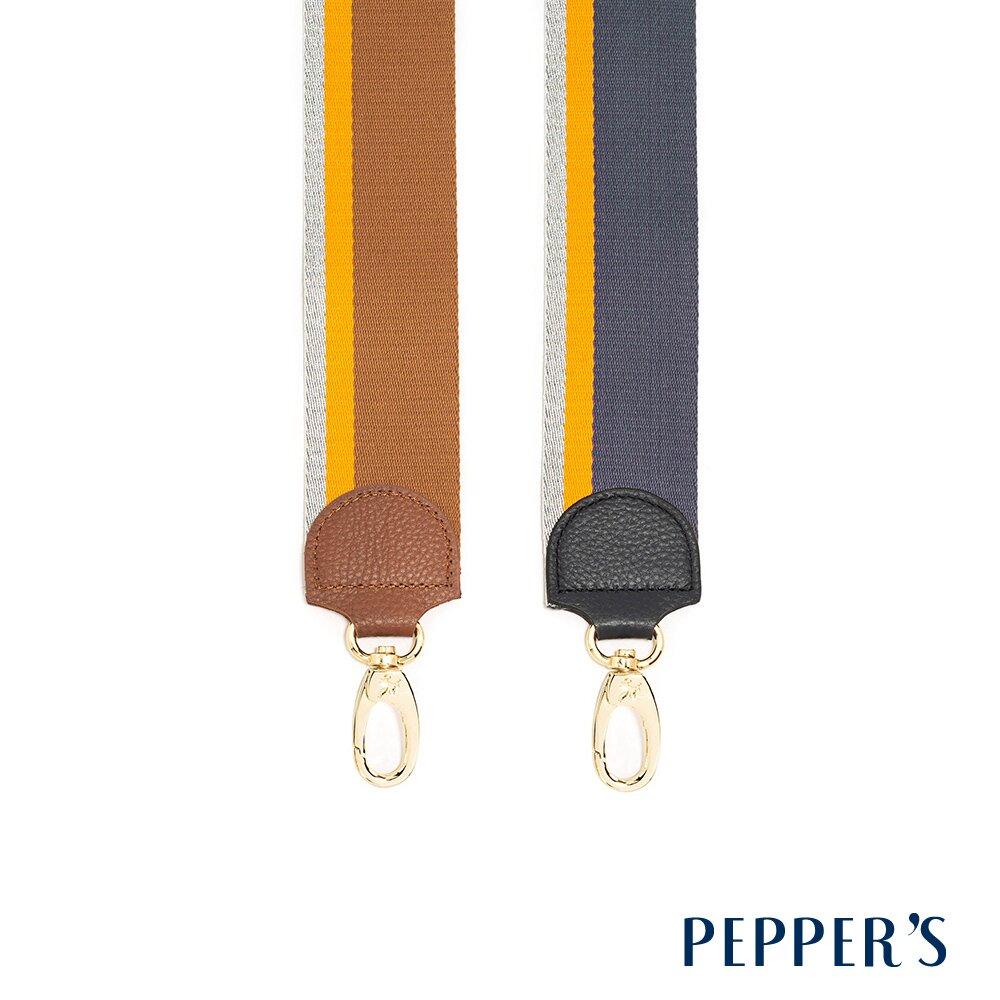 PEPPER'S Wisdom 編織金蔥長背帶 - 2色