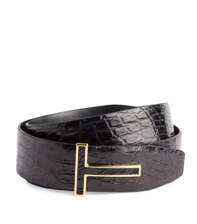 Tom Ford Crocodile Leather Belt