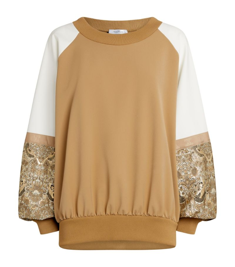 Max Mara Relaxed Colour-Block Sweatshirt