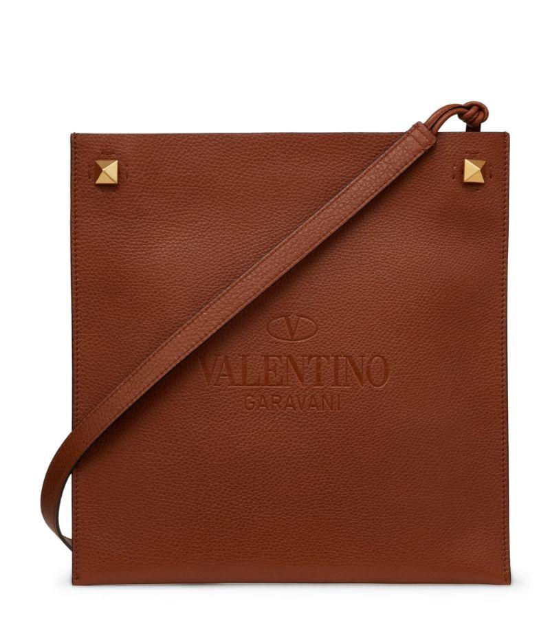 Valentino Valentino Garavani Leather Identity Cross-Body Bag