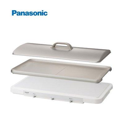 『J-buy』日本~展示品 Panasonic KZ-CX1 桌上IH雙口電磁爐~附燒烤盤 火鍋 烤肉