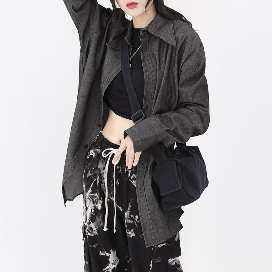 韓國空運 - Peer cotton cross-body bag 肩背包