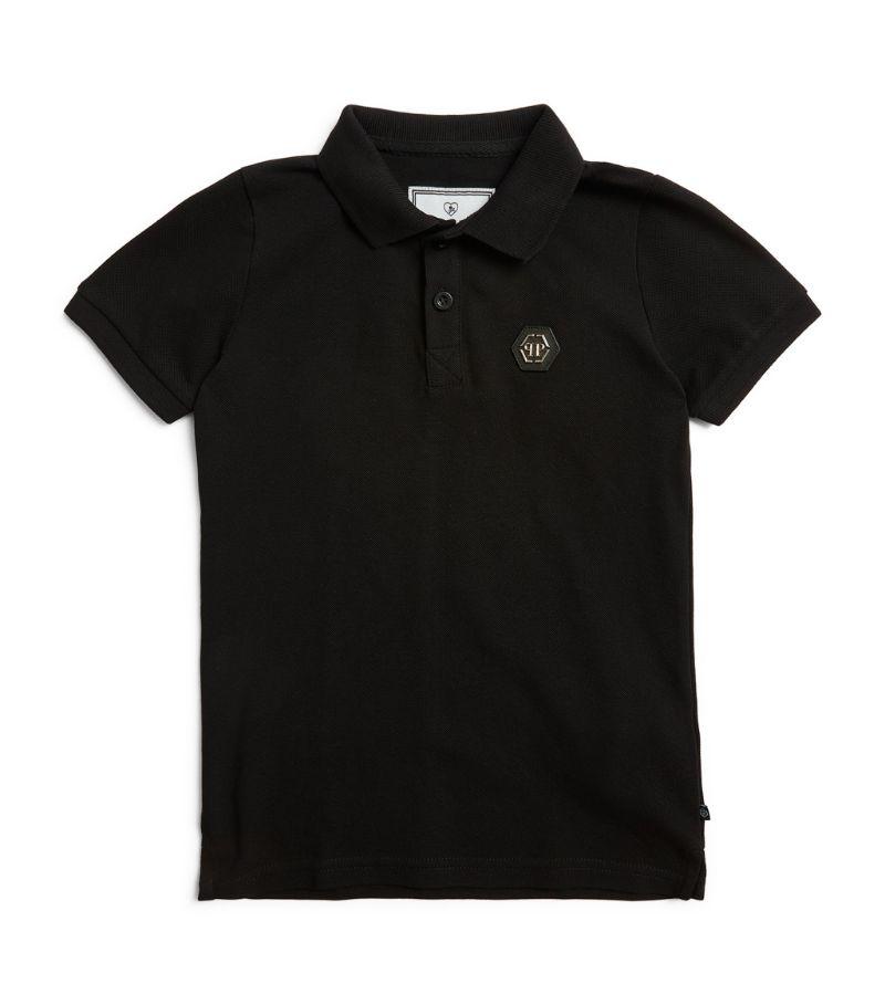 Philipp Plein Junior Logo Polo Shirt (4-16 Years)