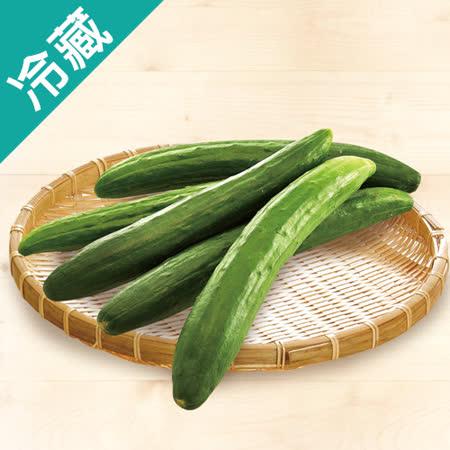 【台灣】優質小黃瓜1袋(600g±5%/袋)