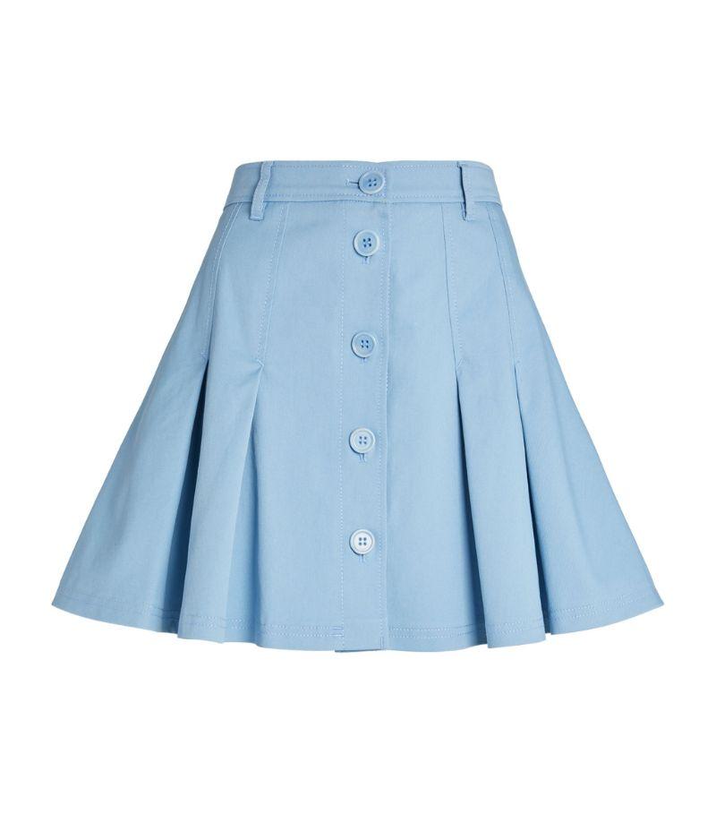 Red Valentino Pleated Mini Skirt