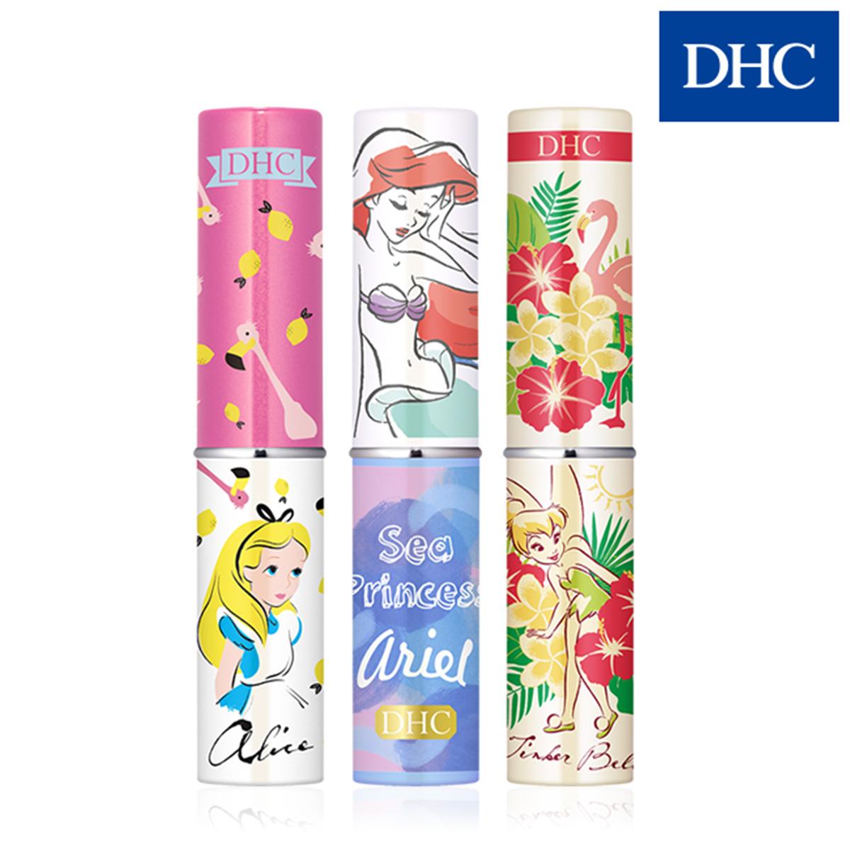 DHC 純欖護唇膏 迪士尼公主系列 夏日彩繪限定版 1.5g 愛麗絲/小精靈  【SP嚴選家】