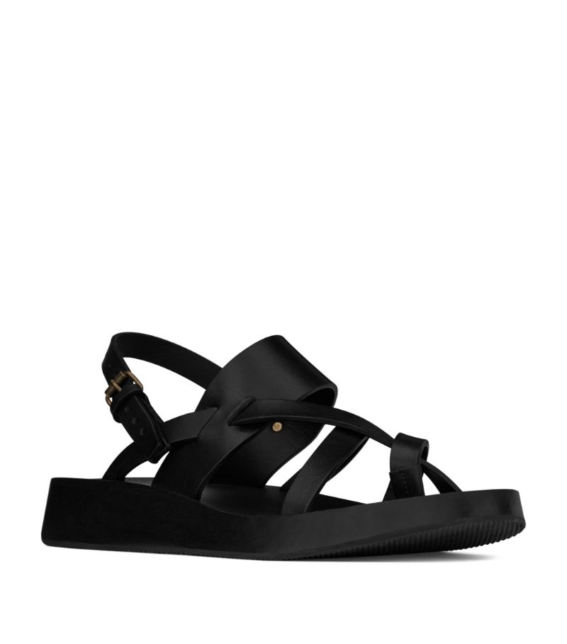 Saint Laurent Leather Noah Sandals