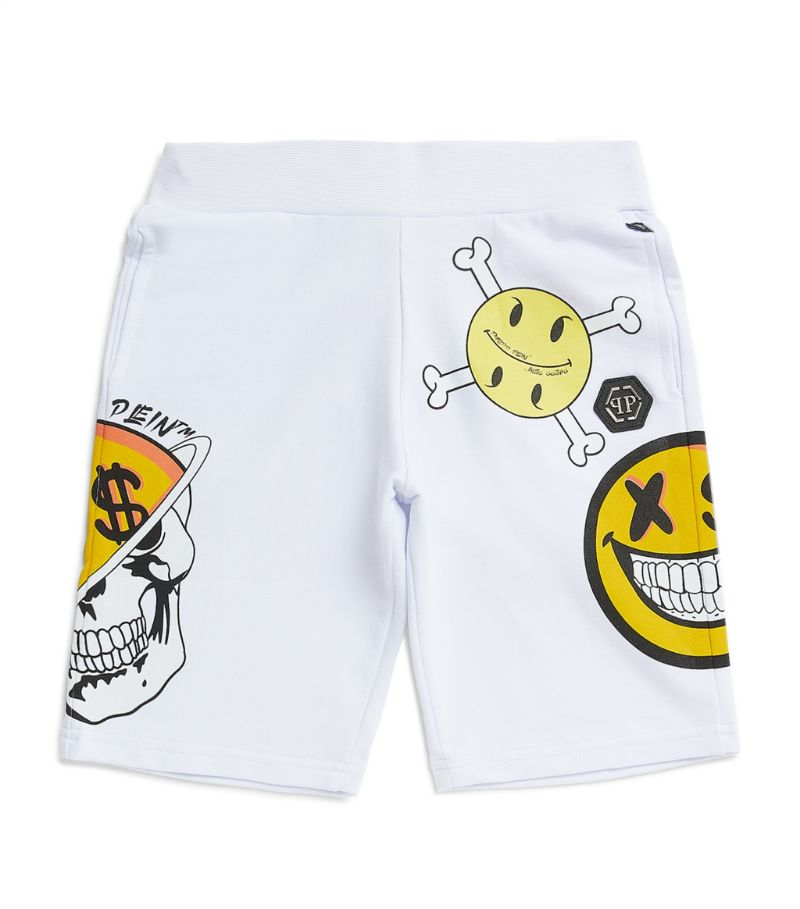 Philipp Plein Junior Logo Sweatshorts (4-16 Years)
