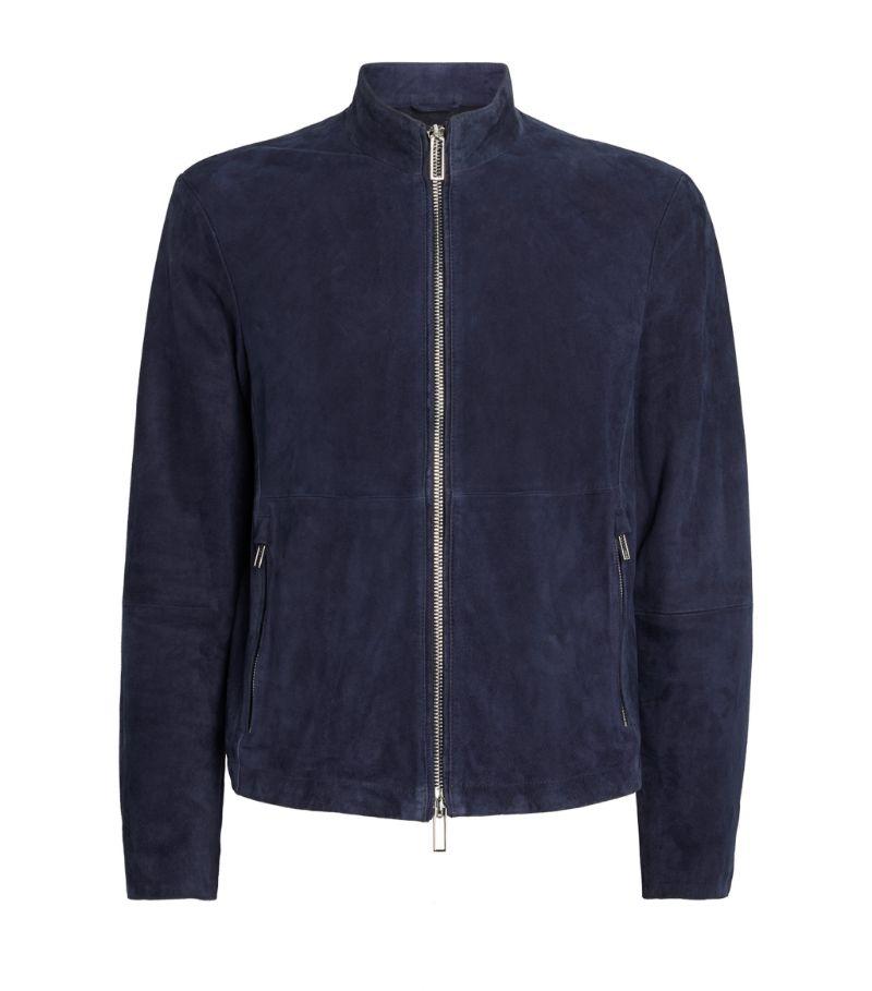 Emporio Armani Suede Jacket