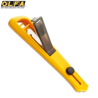 日本OLFA壓克力刀 壓克力切割刀PC-S(附繫繩孔;長157x寬27x厚16mm)Acrylic膠板切割刀