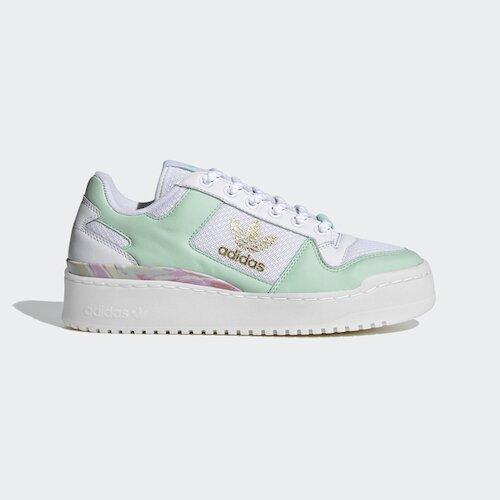 Adidas Forum Bold W [FY5117] 女鞋 運動休閒 愛迪達 舒適 簡約 厚底 穿搭 白 綠