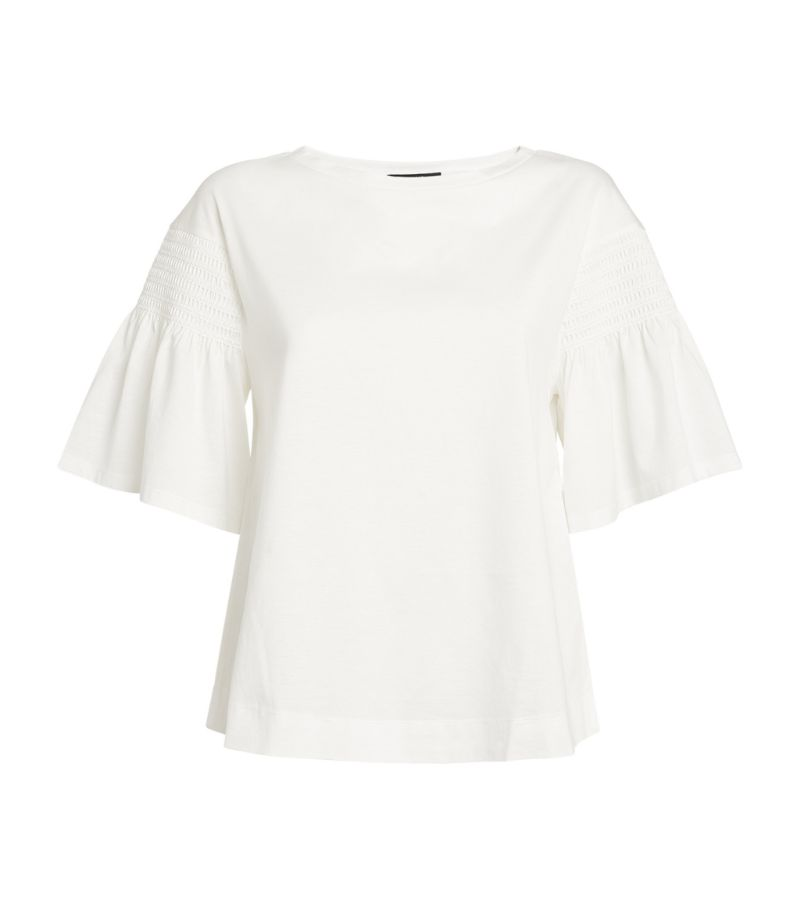 Weekend Max Mara Flared Short-Sleeved Top