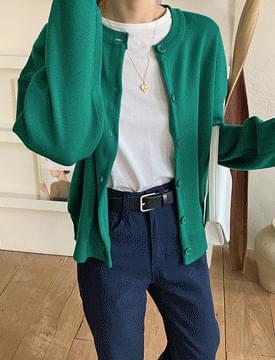 韓國空運 - Morning Cotton Short-sleeved T-shirt 短袖上衣