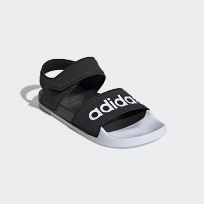 ADIDAS ADILETTE 2.0 涼鞋 黑-G28695