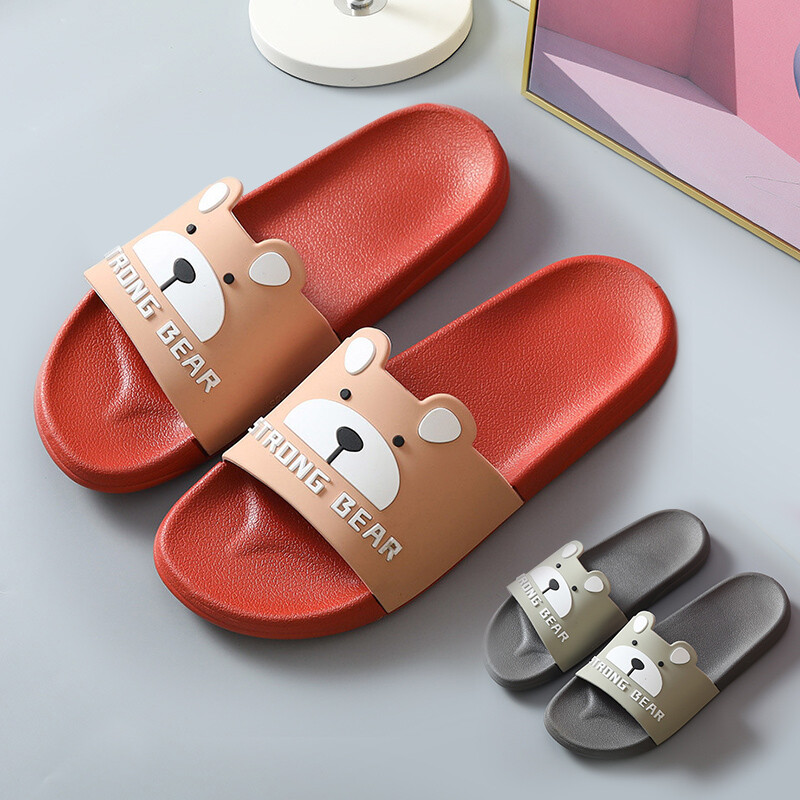 [bunny life] 小熊造型防滑室內拖鞋浴室拖鞋(女/男款)