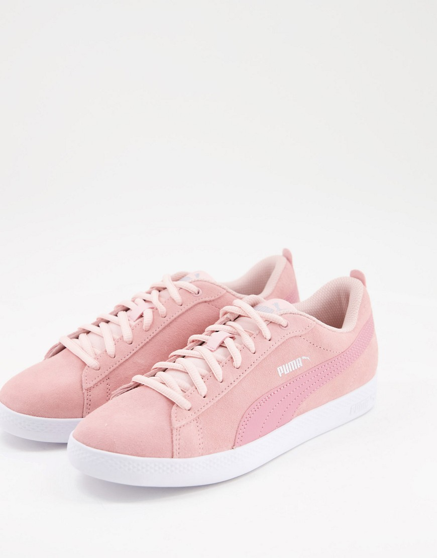 Puma Smash V2 SD trainers in pink