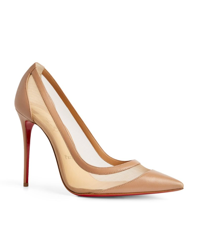 Christian Louboutin Leather Galativi Pumps 100