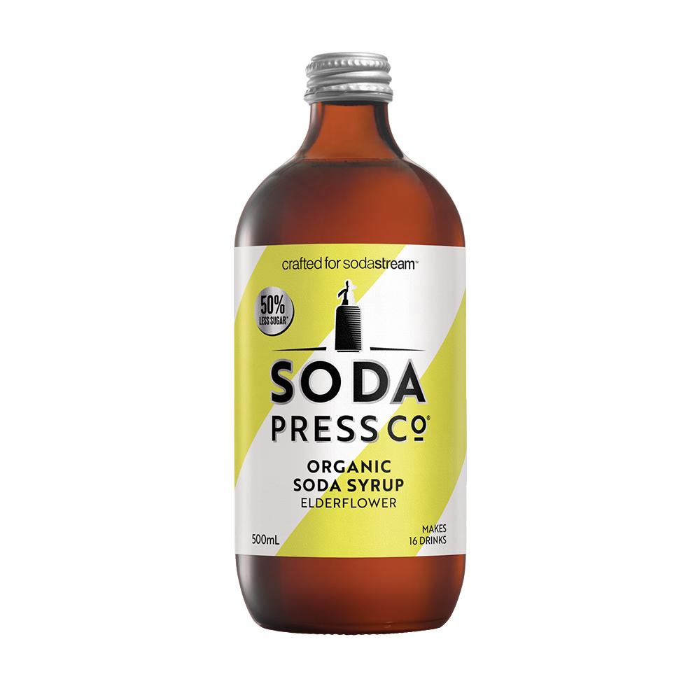 Sodastream Sodapress 有機接骨木風味糖漿 500ml