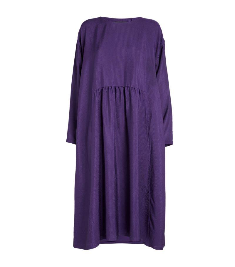 Eskandar Smock-Style Midi Dress