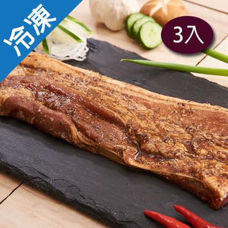 【醃漬入味】台灣鹹豬肉350G-400G/3包