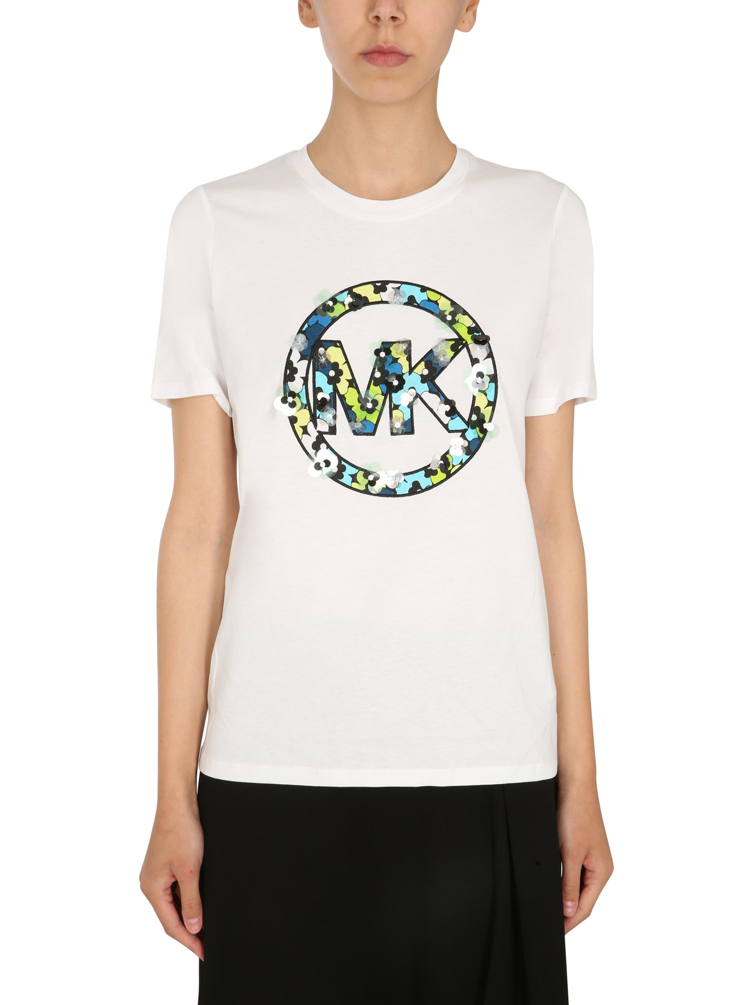 michael by michael kors crew neck t-shirt