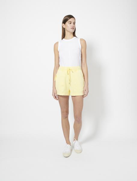 Organic Cotton Loopback Garment Dye Shorts