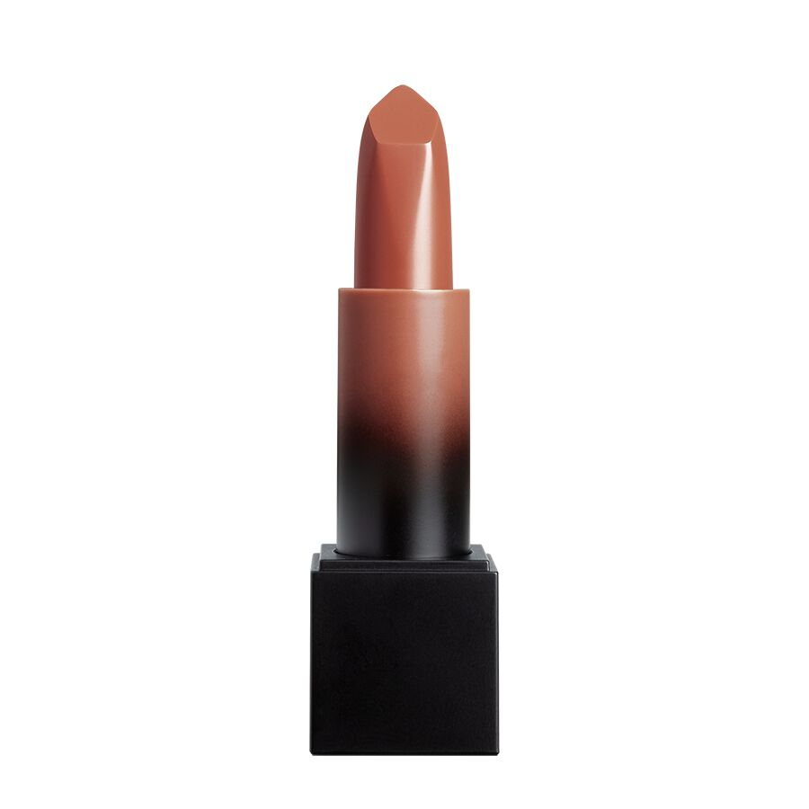 Huda Beauty Power Bullet Lipstick Cream Glow Lipstick in Bossy Brown Boss Chick - Shop Now