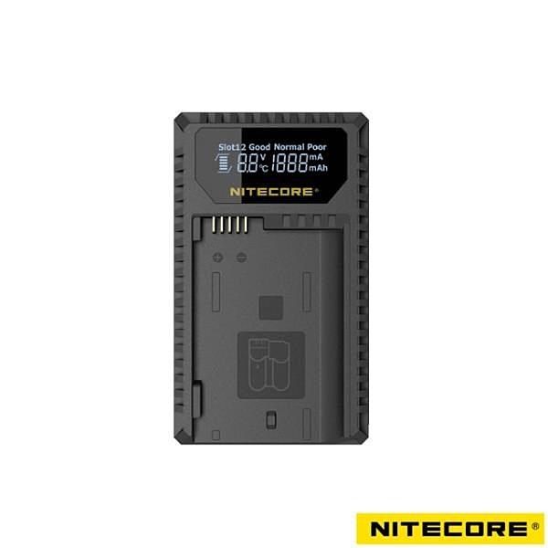 【南紡購物中心】Nitecore UNK1 液晶顯示充電器 For Nikon EN-EL14/15