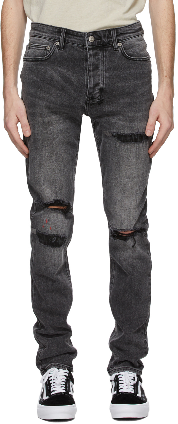 Ksubi 灰色 Chitch Nu Heritage 牛仔裤
