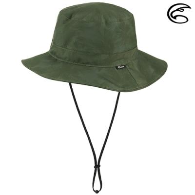 【ADISI】輕量3L防水高透氣印花中盤帽 AH21018 (M-L) / 熱帶叢林綠